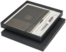 Dárková kazeta obsahující zápisník velikosti A5