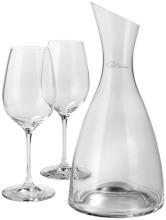Dekanter se 2 sklenicemi na víno Prestige