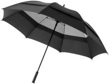 """Dvouvrstvý bouřkový deštník Cardi 30"""" černý"""