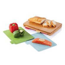 Kuchyňské prkénko se 4ks hygienických podložek