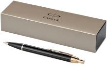 Kuličkové pero Parker IM černo/zlatá