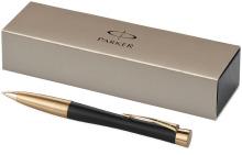 Kuličkové pero Urban - černá/zlatá