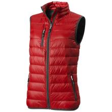 Lehká péřová vesta Fairview červená