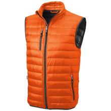 Lehká péřová vesta Fairview oranžová