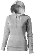 Mikina Alley s kapucí šedá