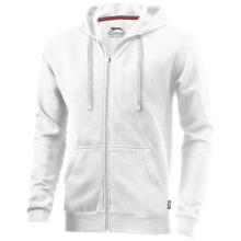 Mikina Open s kapucí bílá