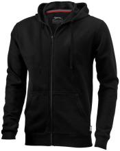 Mikina Open s kapucí černá