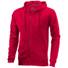 Mikina Open s kapucí červená