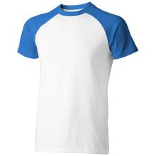 Tričko Backspin bílo-modré