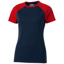 Tričko Backspin černo-červené