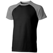 Tričko Backspin černo-šedé