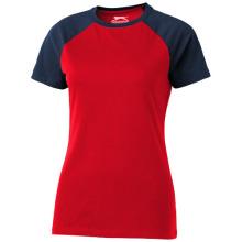 Tričko Backspin červeno-modré