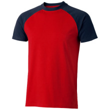 Tričko Backspin čevneno-modré