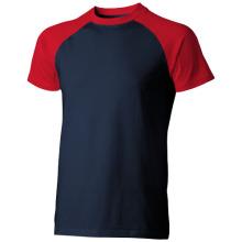 Tričko Backspin modro-červrné
