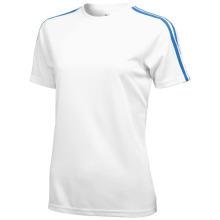Tričko Baseline bílo-modré