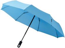 """Trojdílný automatický deštník Travel 21,5"""" modrý"""