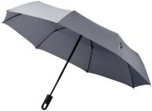 """Trojdílný automatický deštník Travel 21,5"""" šedý"""