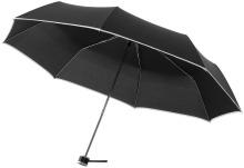 """Trojdílný deštník 21"""" BAL černý"""