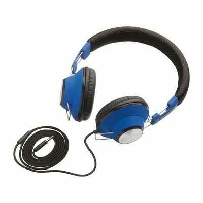 Headphones REEVES-BRAMPTON BLACK BLUE