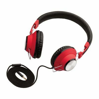 Headphones REEVES-BRAMPTON BLACK RED