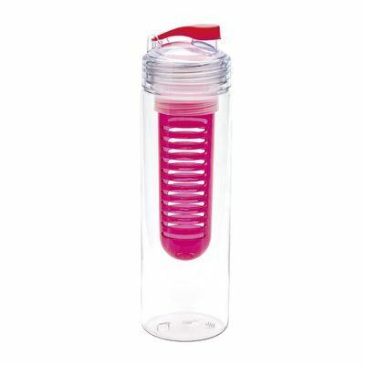 Bottle with fruit infuser RETUMBLER-JOLIETTA RED