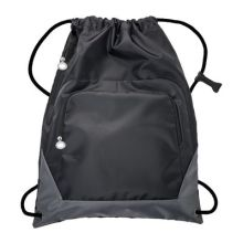 Drawstring bag SUNDSVALL BLACK GREY