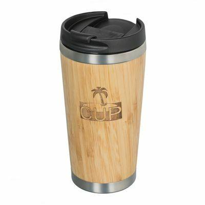 Insulated bamboo mug RETUMBLER-TALCA