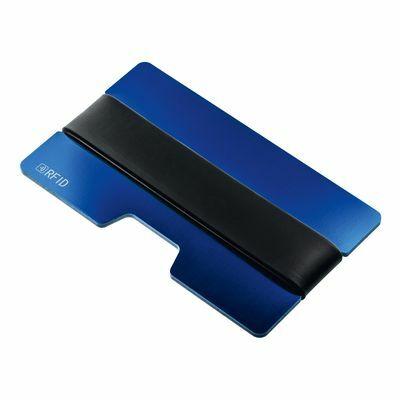 RFID protection card case SAKUMONO BLUE