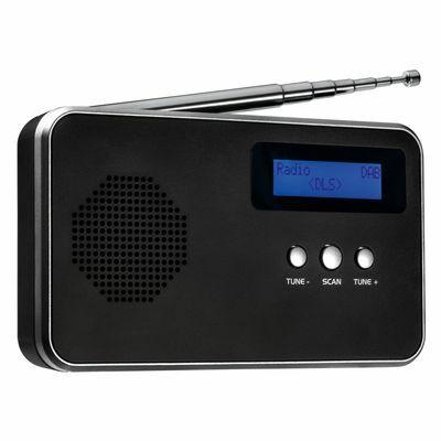 Portable digital radio FM - DAB+ REEVES-BARCELOS BLACK SILVER