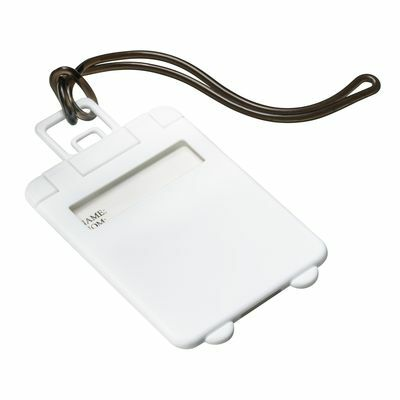 Luggage tag VILLARICA WHITE