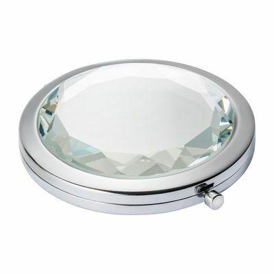 Pocket mirror MANAMA SILVER