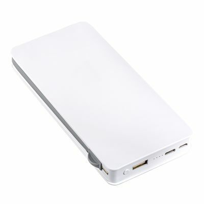Wireless charging powerbank REEVES-LEICESTER WHITE