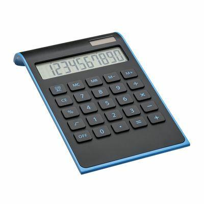 Calculator REEVES-VALINDA BLACK LIGHT BLUE