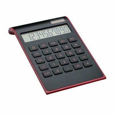 Calculator REEVES-VALINDA BLACK RED