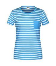 Ladies T-Shirt Striped (M)