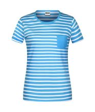 Ladies T-Shirt Striped (L)