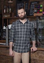 Mens Checked Shirt Urban-Flair (2XL)