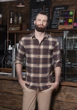Mens Checked Shirt Urban-Trend (XL)