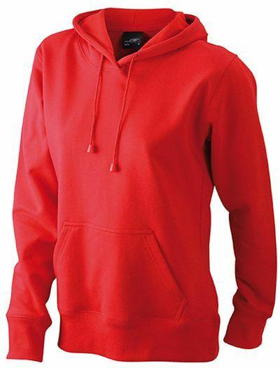 Ladies Hooded Sweat (XL)