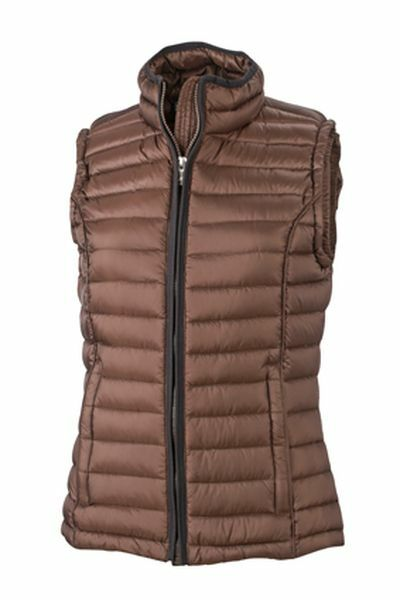 Ladies Quilted Down Vest (XXL)