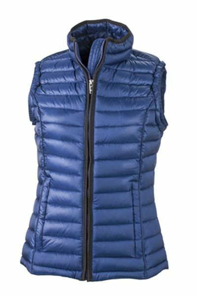 Ladies Quilted Down Vest (XL)