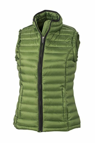 Ladies Quilted Down Vest (S)