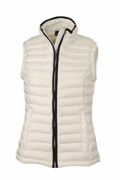 Ladies Quilted Down Vest (L)