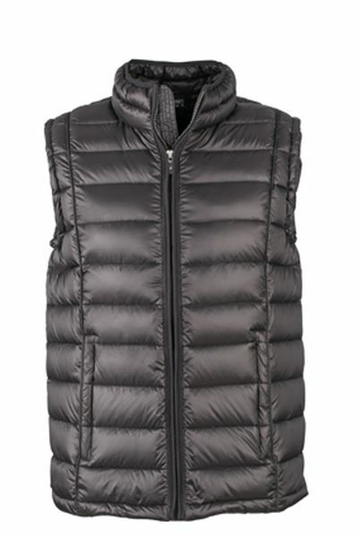 Mens Quilted Down Vest (XL)