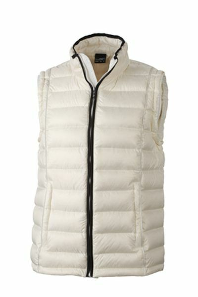 Mens Quilted Down Vest (L)