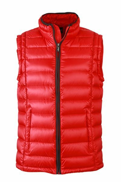 Mens Quilted Down Vest (S)