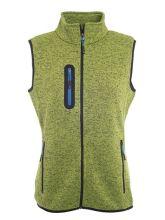Ladies Knitted Fleece Vest (XXL)