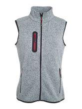 Ladies Knitted Fleece Vest (S)