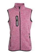 Ladies Knitted Fleece Vest (L)