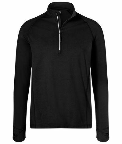 Mens Sports Shirt Halfzip (L)